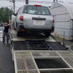 廃車の引き取り依頼で市川市まで日産ADバンを引き取りに。