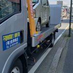 市川市まで廃車の引き取りの依頼でワゴンRを引き取りに。